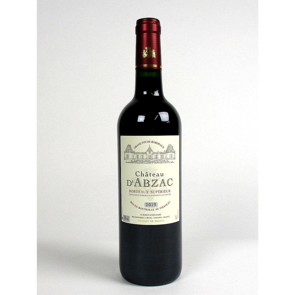 Bordeaux Supérieur: Château d'Abzac 2019 - Bottle