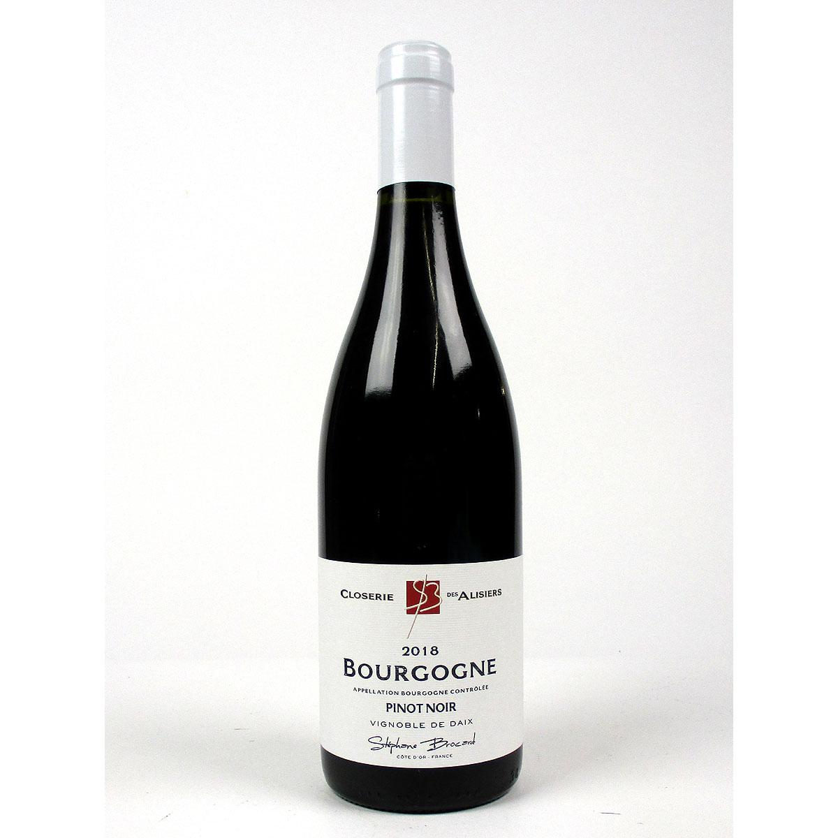 Bourgogne Pinot Noir: Closerie des Alisiers 2018 - Bottle