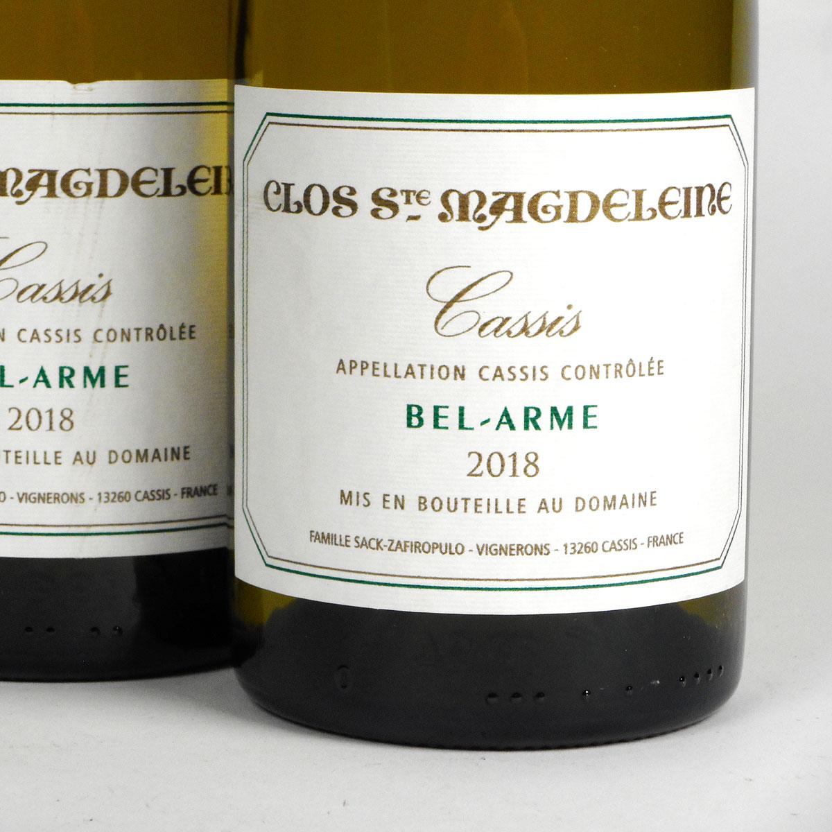 Cassis: Clos Sainte Magdeleine 'Bel-Arme' Blanc 2018