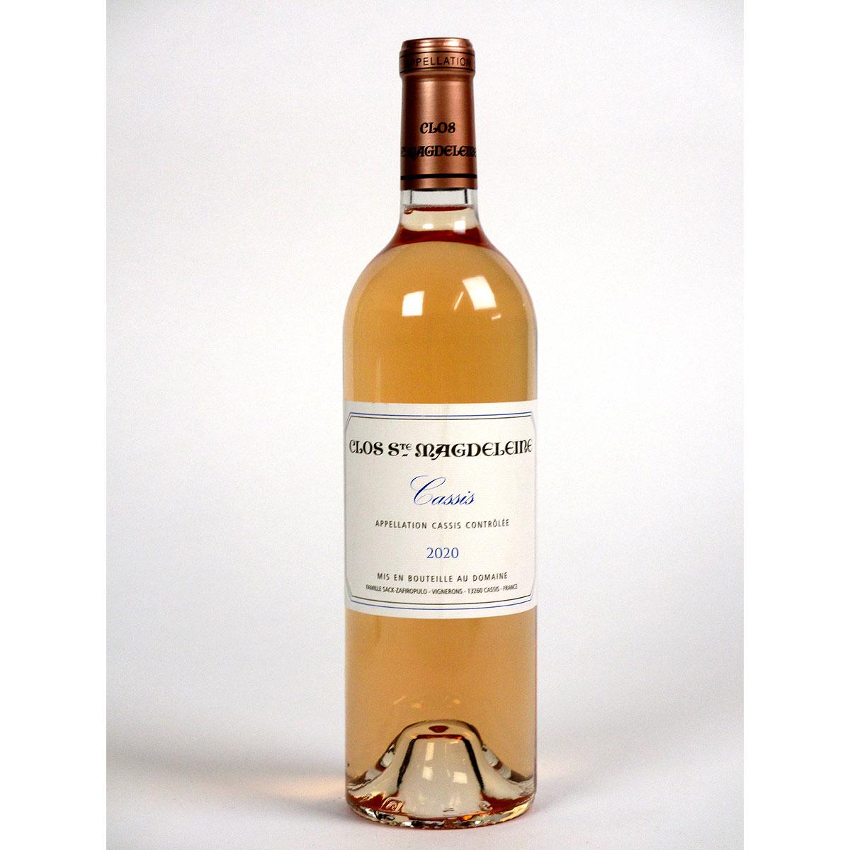 Cassis: Clos Sainte Magdeleine Rosé 2020 - Bottle