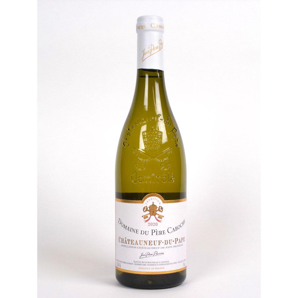 Châteauneuf du Pape: Domaine du Père Caboche Blanc 2020 - Bottle