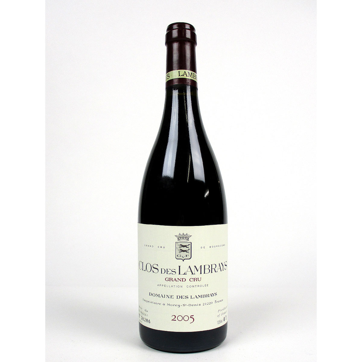 Clos des Lambrays: Domaine des Lambrays Grand Cru 2005 - Bottle