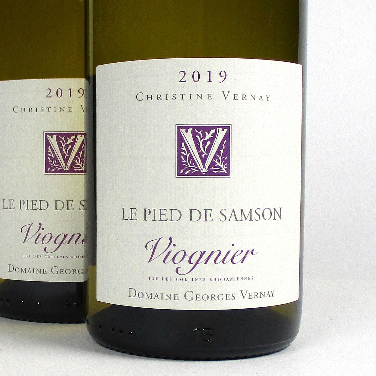 Collines Rhodaniennes: Domaine Georges Vernay 'Le Pied de Samson' 2019
