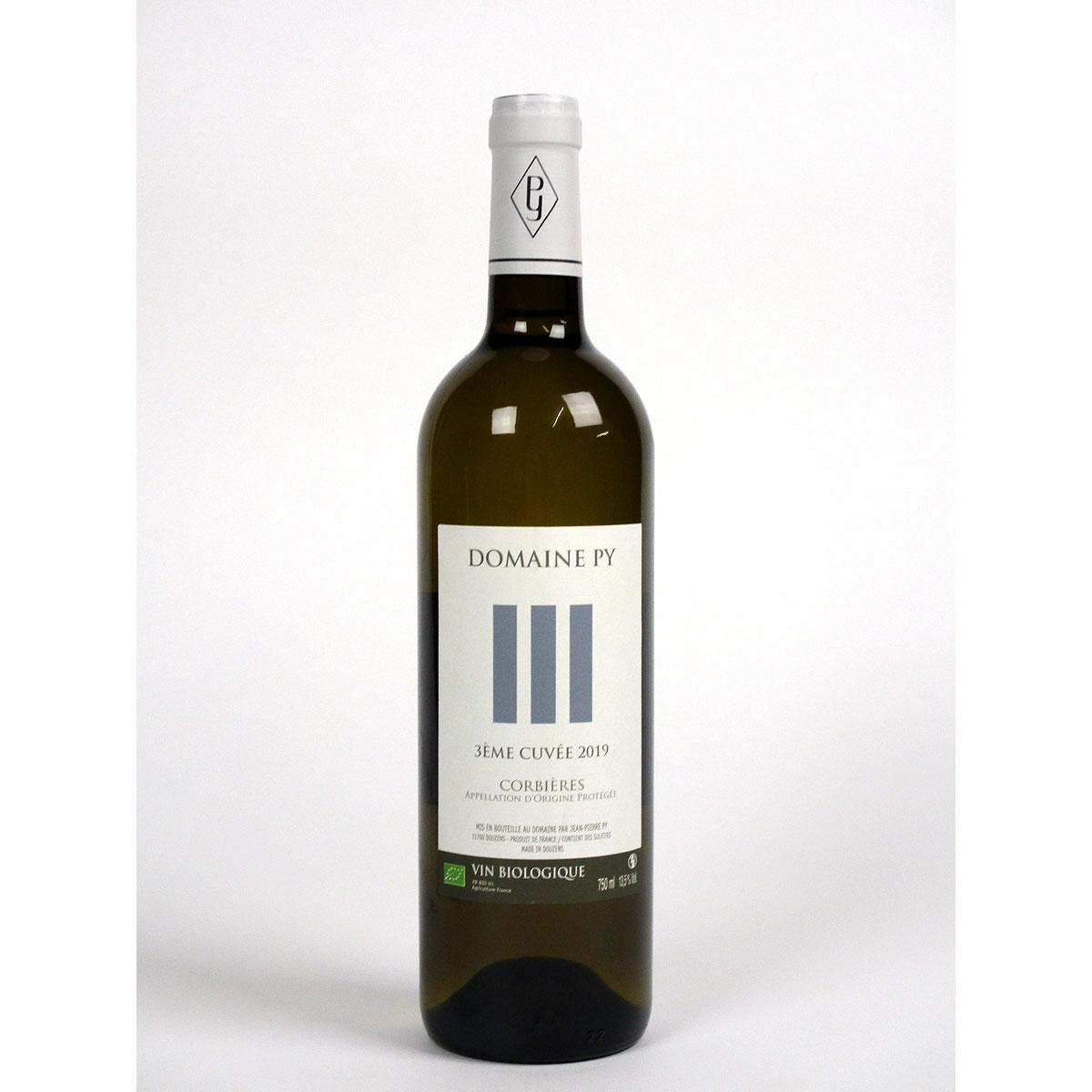 Corbières: Domaine Py '3ème Cuvée' Blanc 2019 - Bottle