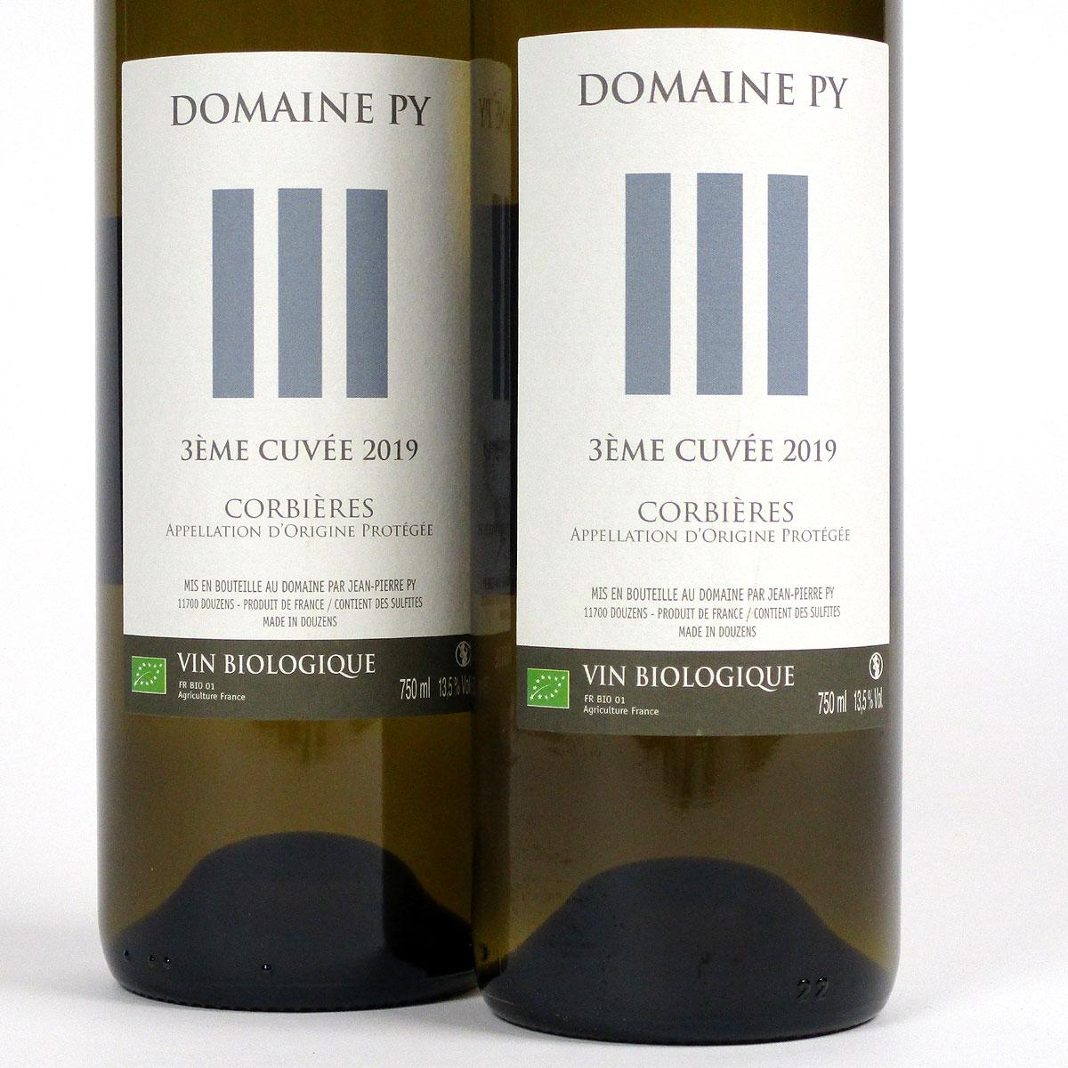 Corbières: Domaine Py '3ème Cuvée' Blanc 2019