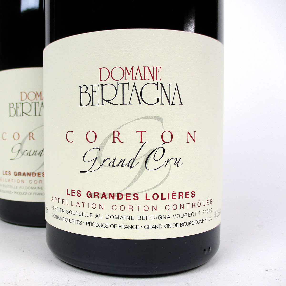 Corton: Domaine Bertagna Grand Cru 'Les Grandes Lolières' 2016