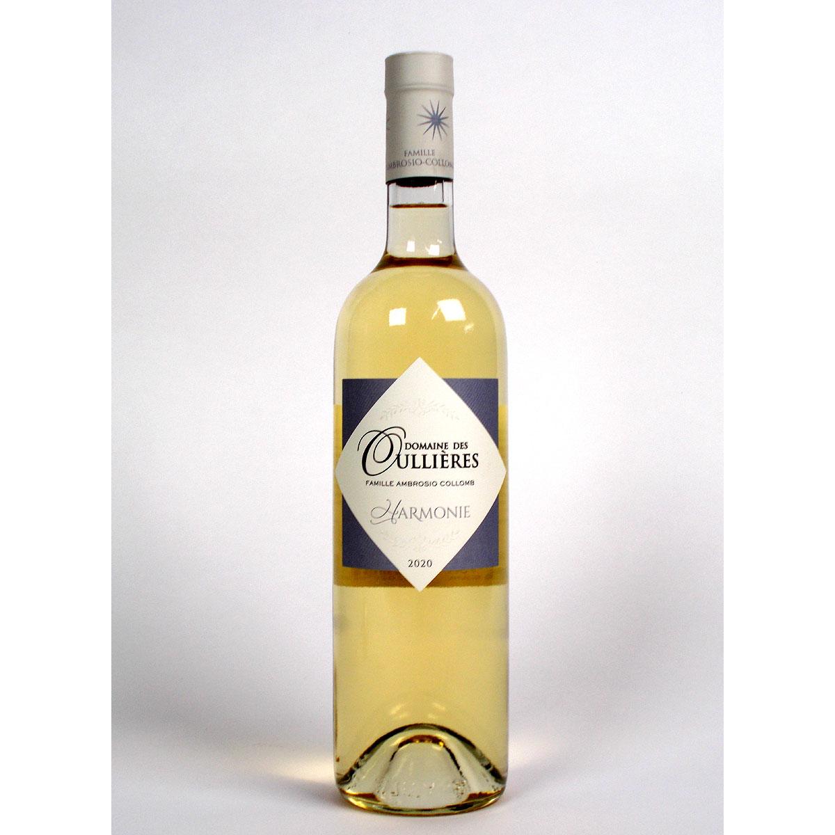 Coteaux d'Aix-en-Provence: Domaine des Oullières Blanc 2020 - Bottle