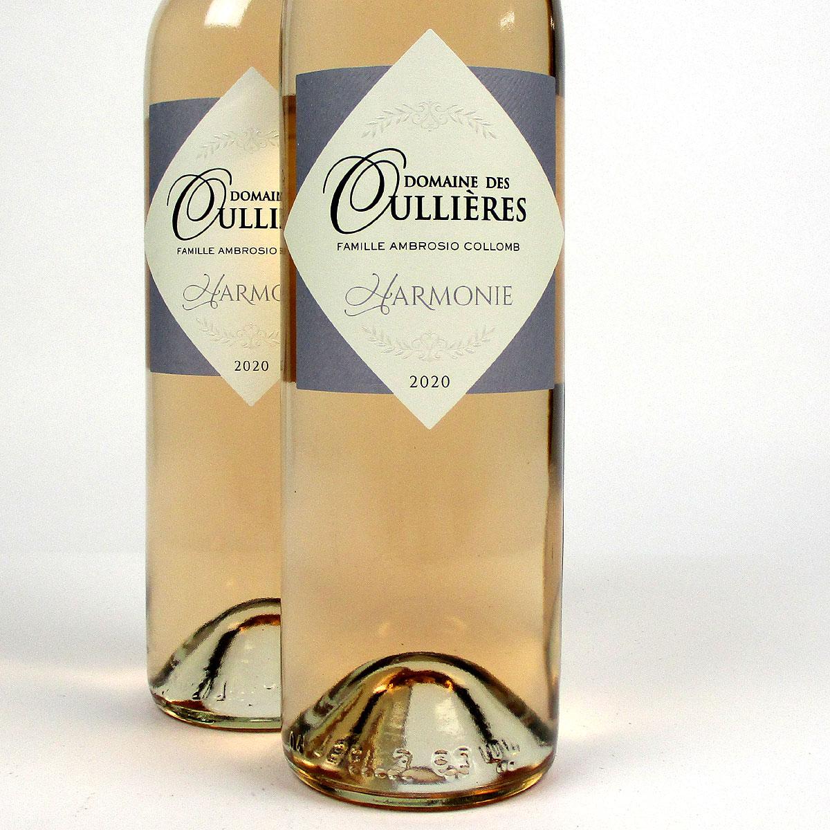 Coteaux d'Aix-en-Provence: Domaine des Oullières Rosé 2020