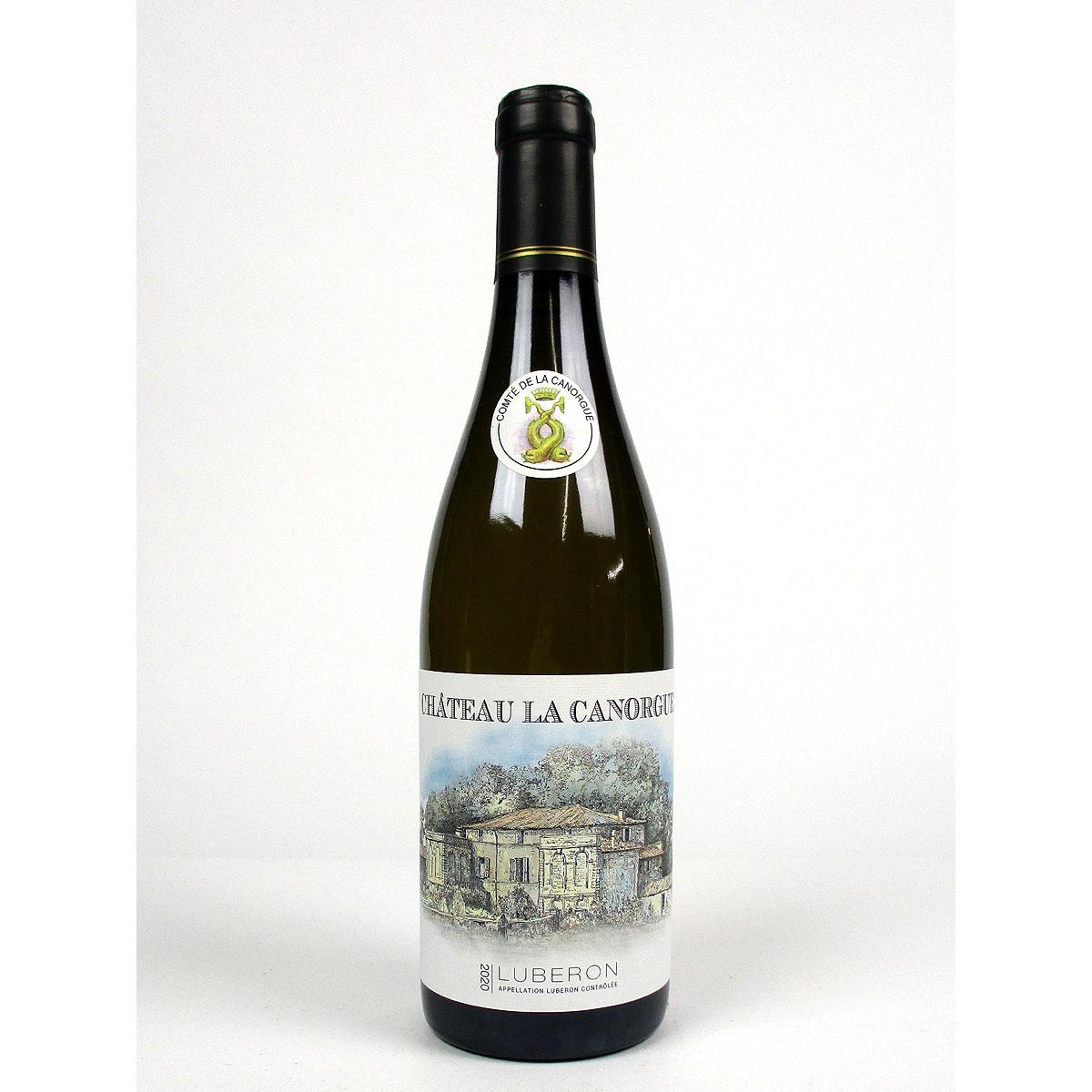 Côtes du Luberon: Château la Canorgue Blanc 2020 - Bottle