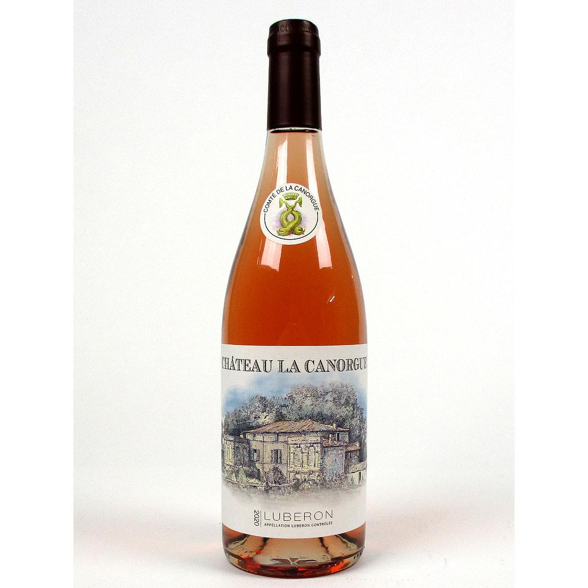 Côtes du Luberon: Château La Canorgue Rosé 2020 - Bottle