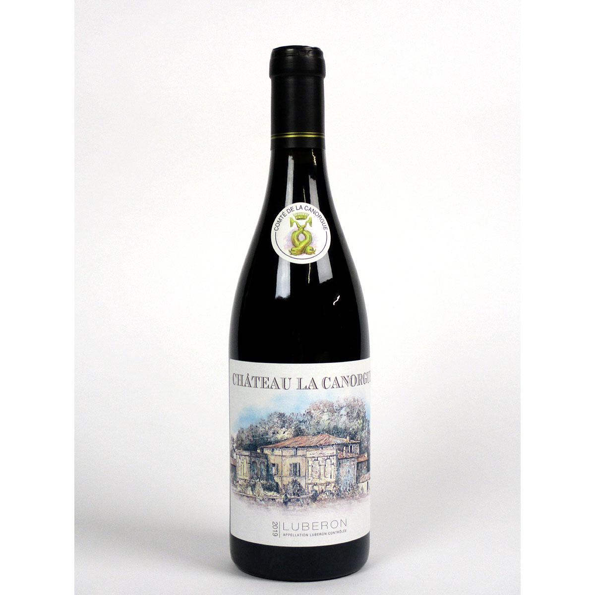 Côtes du Luberon: Château la Canorgue Rouge 2019 - Bottle