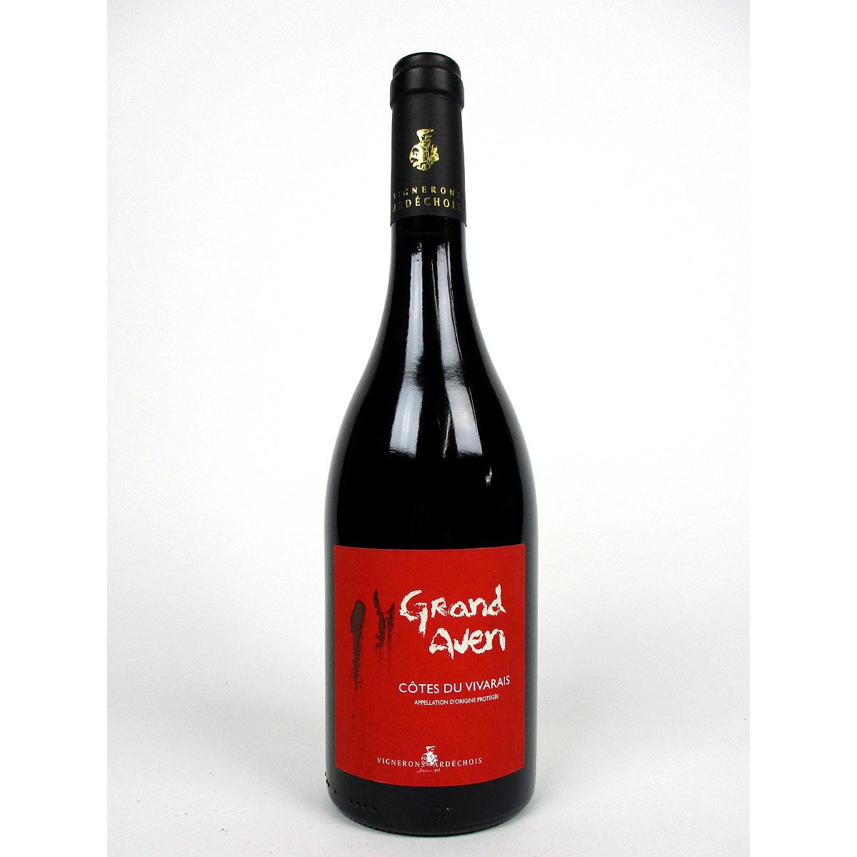 Côtes du Vivarais: Vignerons Ardéchois 'Grand Aven' 2019 - Bottle