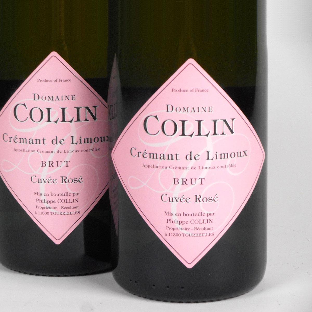 Crémant de Limoux: Domaine Collin 'Cuvée Prestige' Rosé