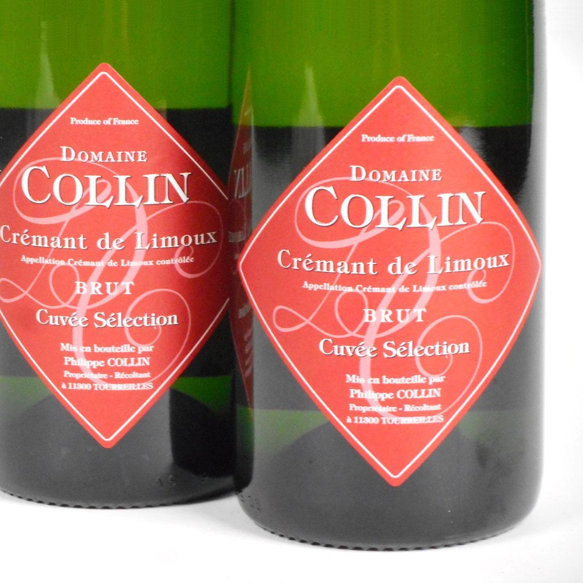 Crémant de Limoux: Domaine Collin 'Cuvée Sélection' Brut