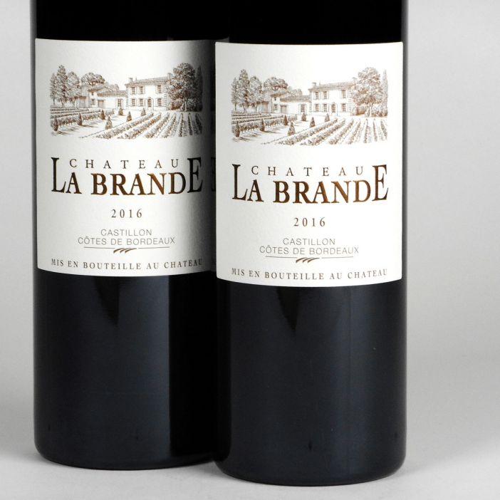 AOC Castillon Côtes de Bordeaux: Château La Brande 2016