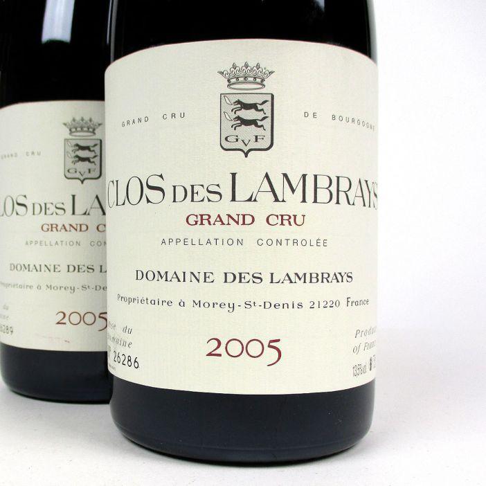 Clos des Lambrays: Domaine des Lambrays Grand Cru 2005