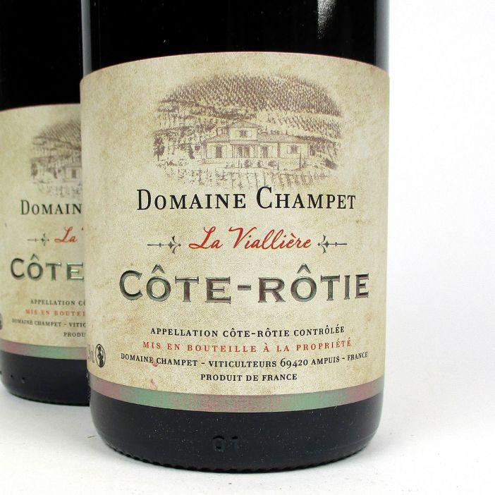 Côte Rôtie: Domaine Champet 'La Viallière' 2017