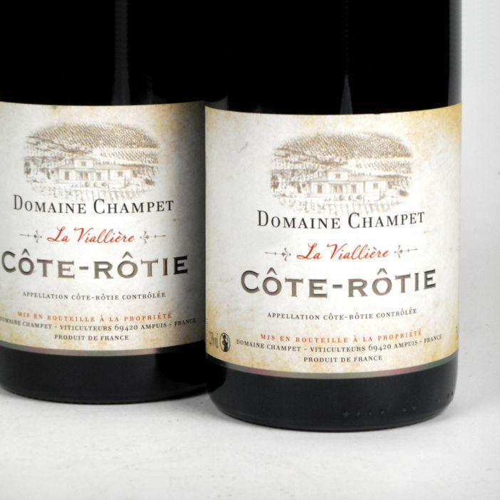 Côte Rôtie: Domaine Champet 'La Viallière' 2018