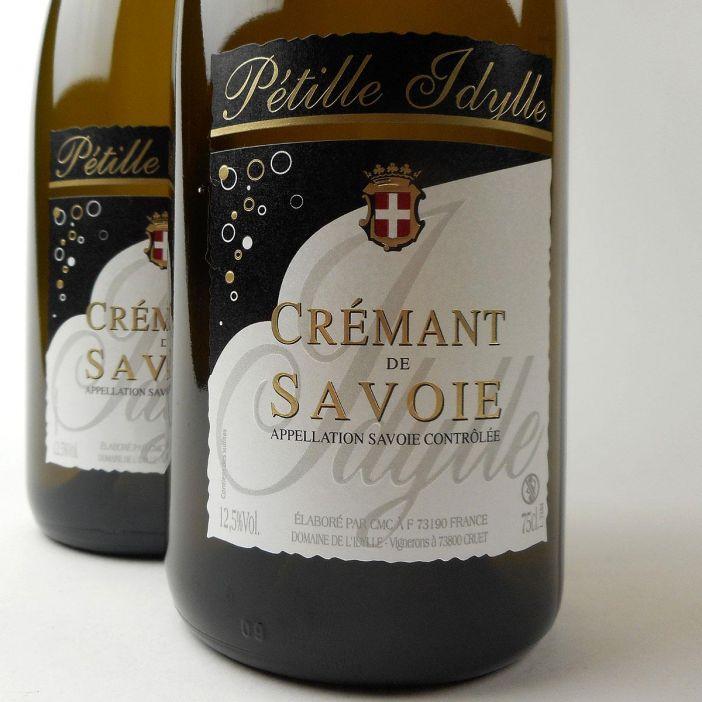 Crémant de Savoie: Domaine de L'Idylle Brut