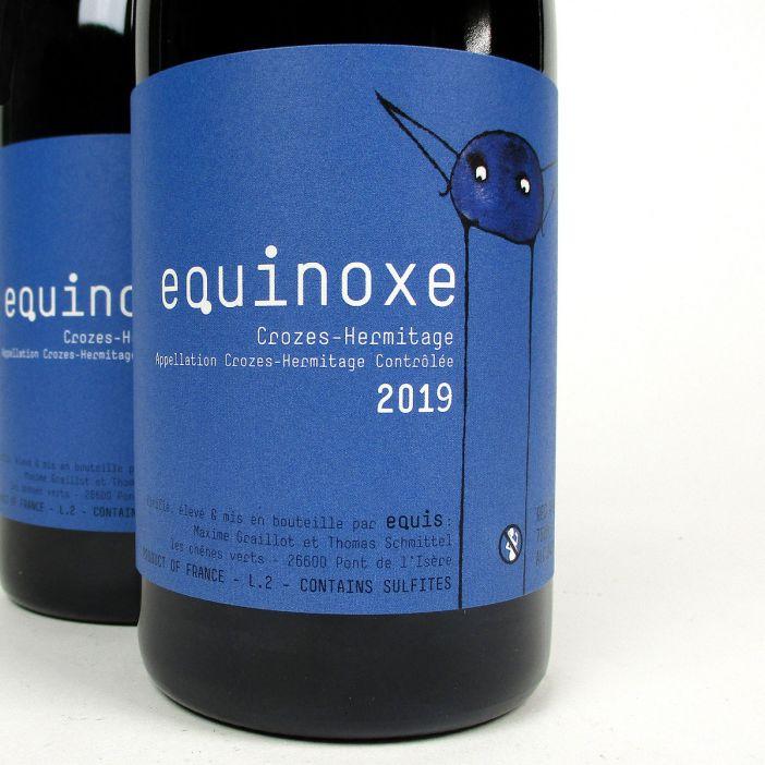 Crozes Hermitage: Domaine Equis 'Equinoxe' 2019