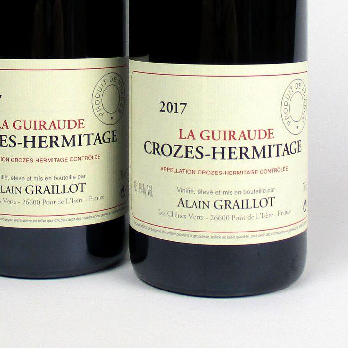 Crozes Hermitage Rouge: Alain Graillot 'La Guiraude' 2017
