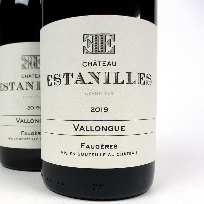 Faugères: Château Estanilles 'Vallongue' Rouge 2019