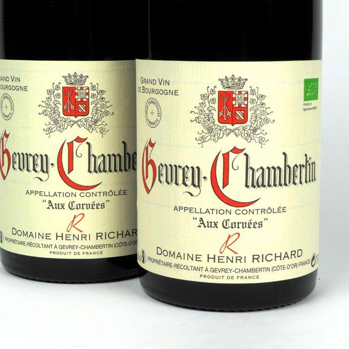 Gevrey-Chambertin: Domaine Henri Richard 'Aux Corvées' 2015