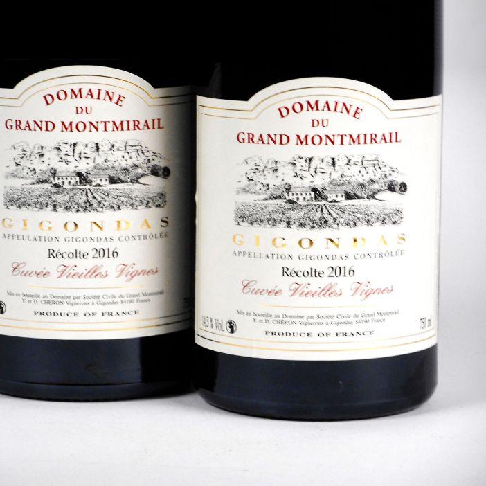 Gigondas:Domaine du Grand Montmirail 'Vieilles Vignes' 2016