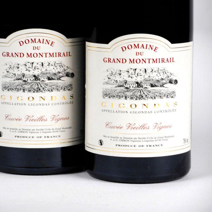 Gigondas: Domaine du Grand Montmirail 'Vieilles Vignes' 2018