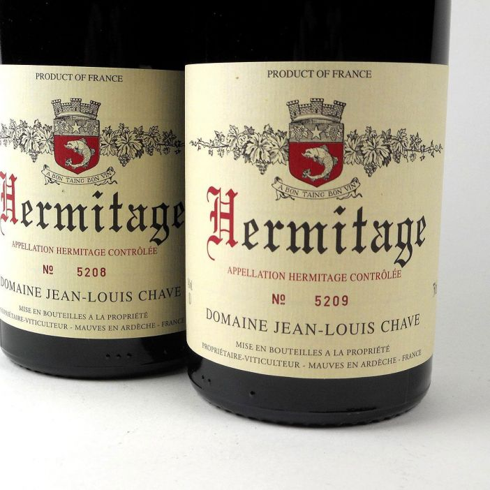 Hermitage: Domaine Jean-Louis Chave Rouge 2012