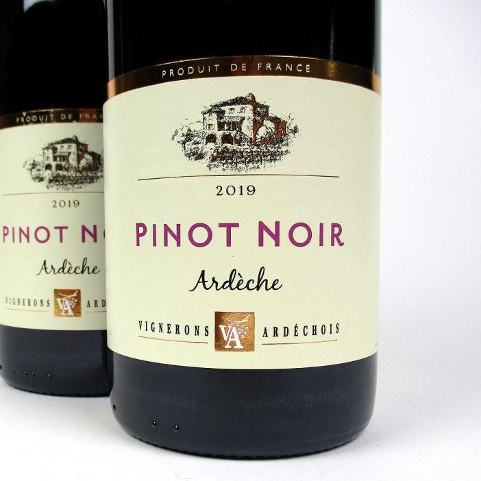 IGP Ardèche: Vignerons Ardéchois Pinot Noir 2019