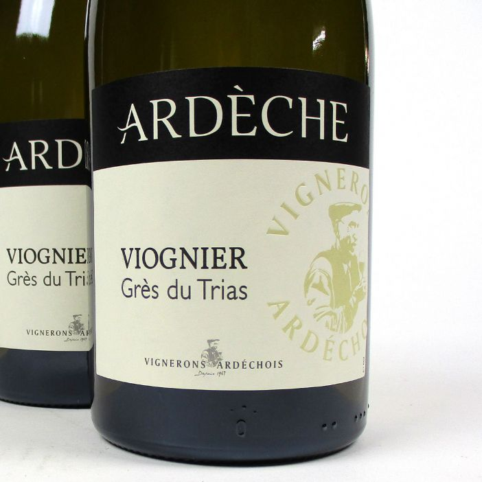 IGP Ardèche: Vignerons Ardéchois Viognier 'Grès du Trias' 2020
