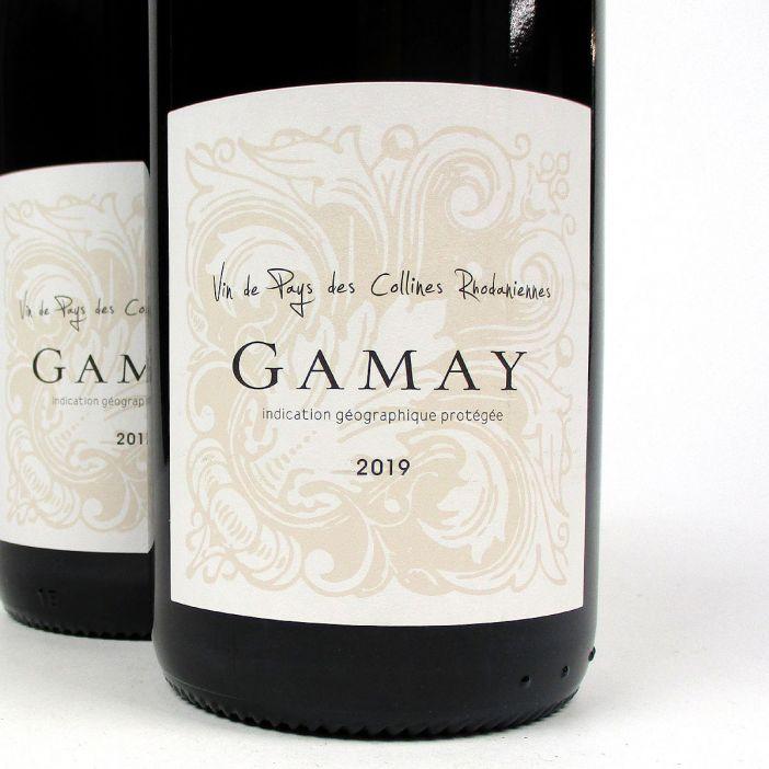 IGP Collines Rhodaniennes: Cave Saint-Désirat Gamay 2019