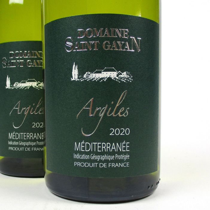IGP Méditerranée: Domaine Saint Gayan 'Argiles' Blanc 2020