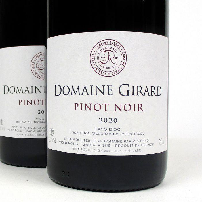 IGP Pays d'Oc: Domaine Girard Pinot Noir 2020