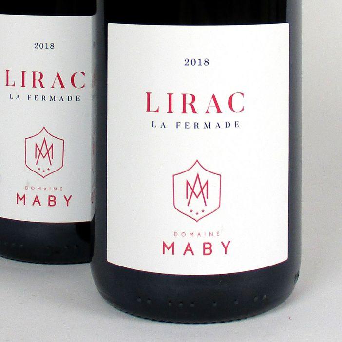 Lirac: Domaine Maby 'La Fermade' Rouge 2018