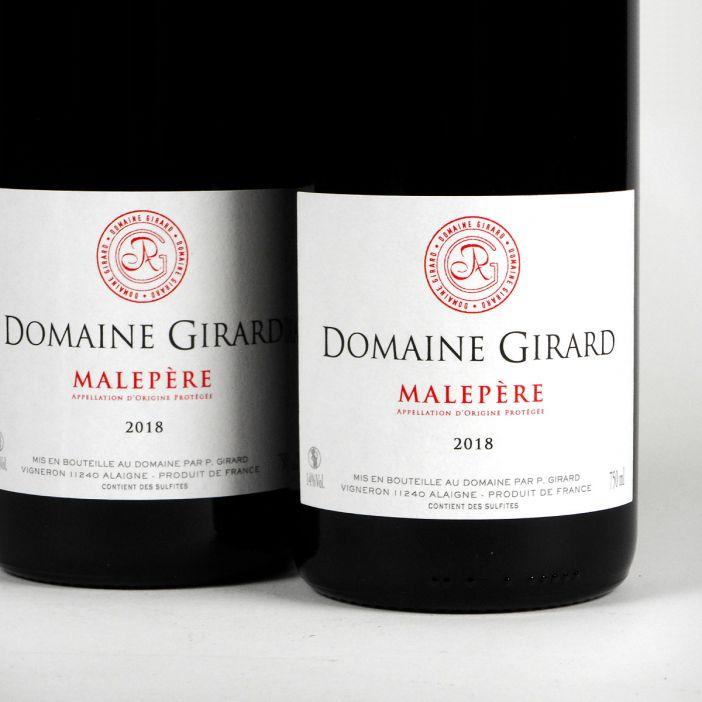 Malepère: Domaine Girard 'Cuvée Tradition' 2018