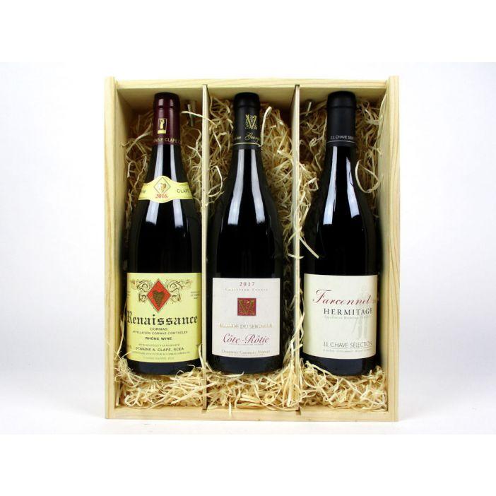 Northern Rhône Syrah Trio  - Wine Gift Pack Offer