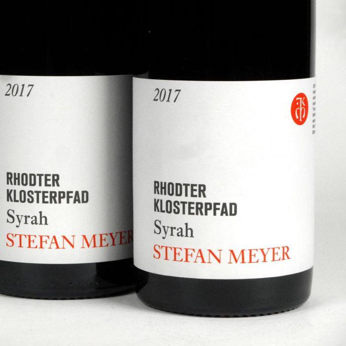 Pfalz: Stefan Meyer 'Rhodter Klosterpfad' Syrah 2017