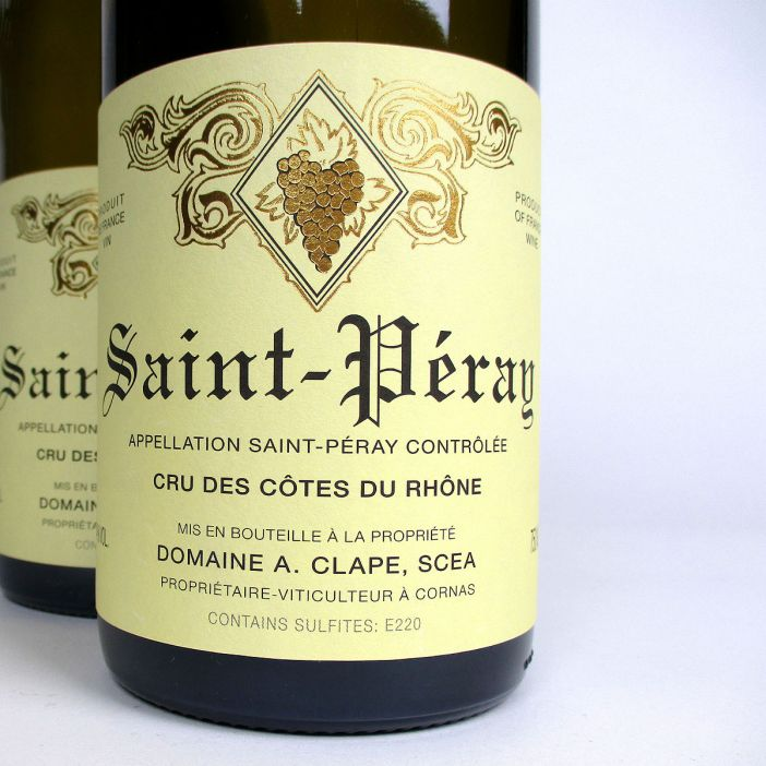 Saint-Péray: Domaine Clape 2019