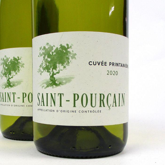 Saint-Pourçain: 'Cuvée Printanière' Blanc 2020