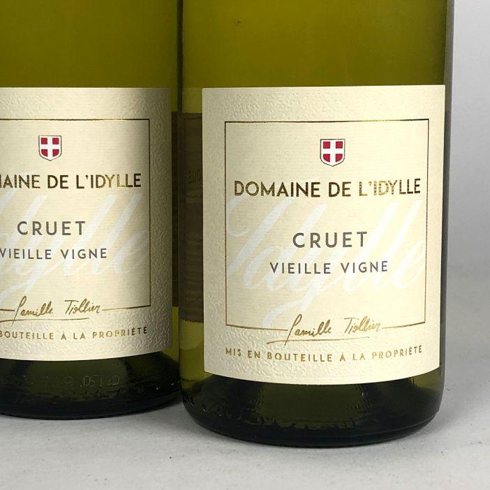 Savoie: Domaine de l'Idylle 'Vieille Vigne' Blanc 2020