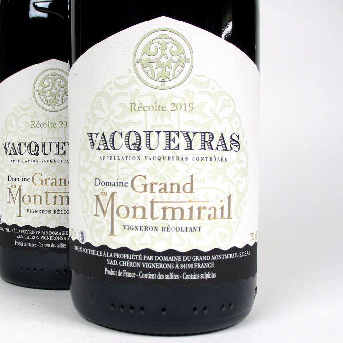Vacqueyras: Domaine du Grand Montmirail 2019