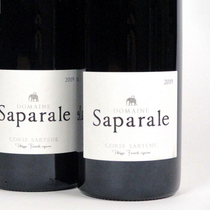 Vin de Corse Sartène Rouge: Domaine Saparale 2019