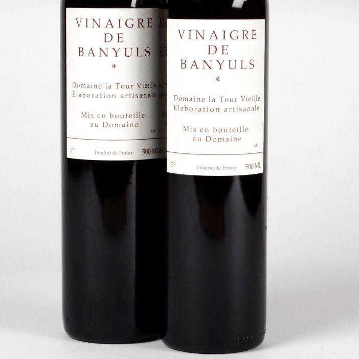 Vinaigre de Banyuls - Domaine la Tour Vieille