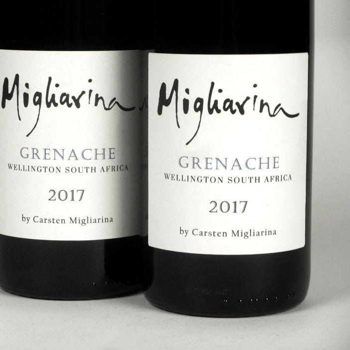Wellington: Migliarina Grenache 2017