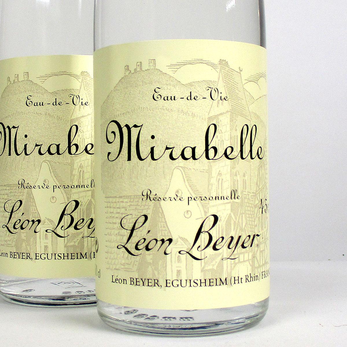 Eau-de-Vie Mirabelle 'Réserve Personelle': Léon Beyer