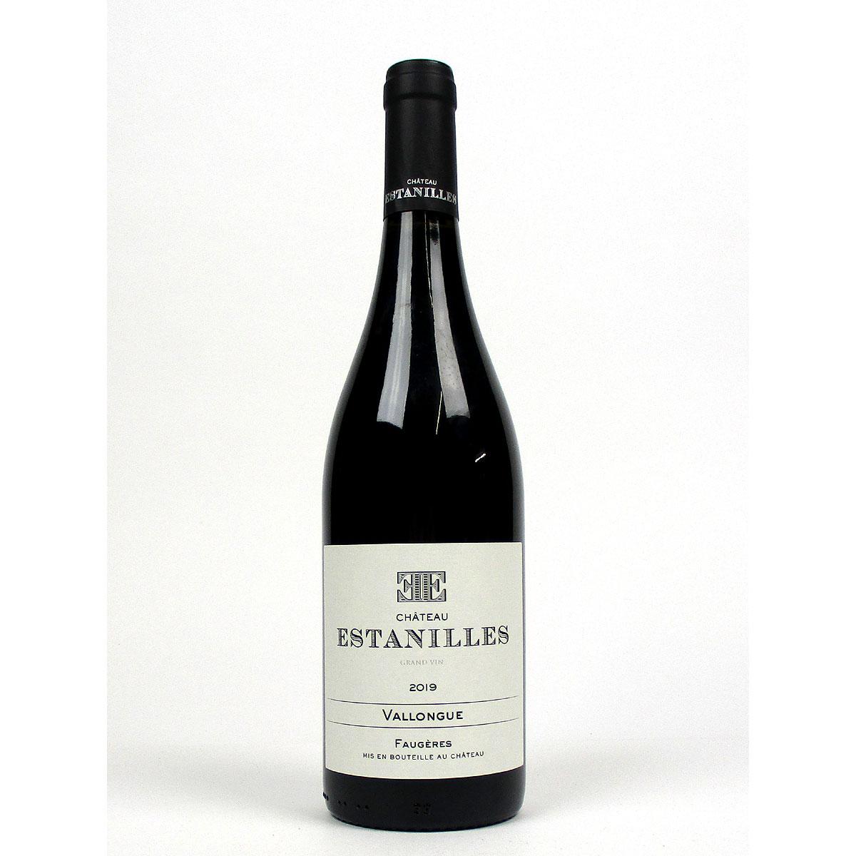 Faugères: Château Estanilles 'Vallongue' Rouge 2019 - Bottle