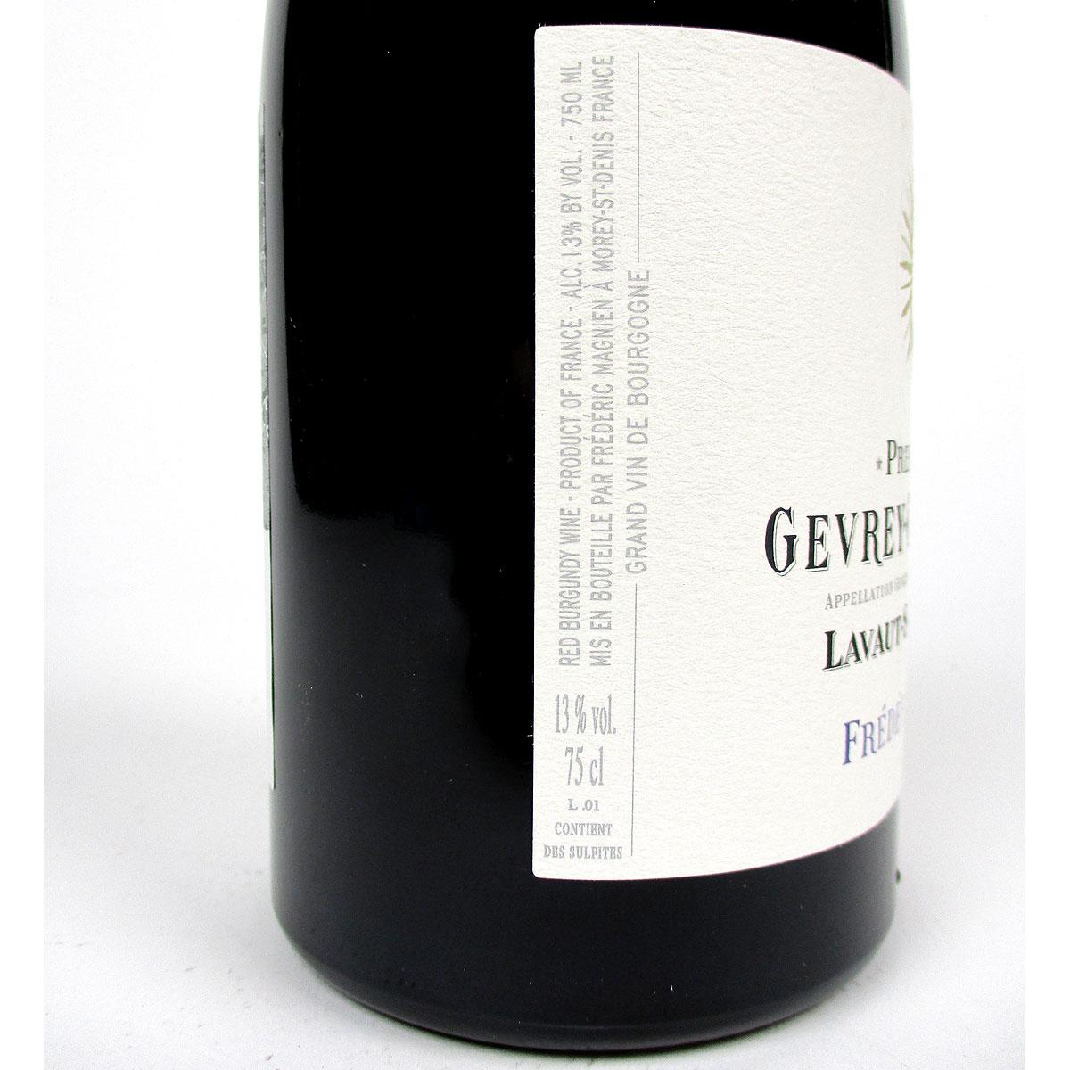 Gevrey-Chambertin: Frédéric Magnien 'Lavaut-Saint-Jacques' Premier Cru 2017 - Label Side