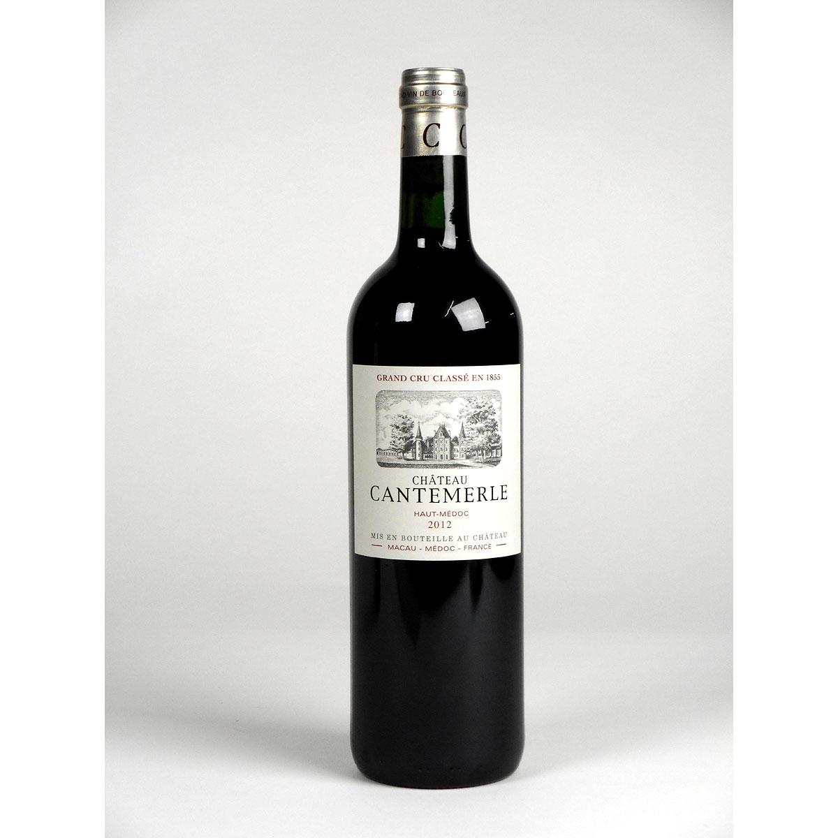Haut-Médoc: Château Cantemerle 2012 - Bottle